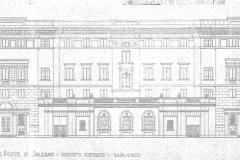 Il progetto di Narducci (Prospetto posteriore)